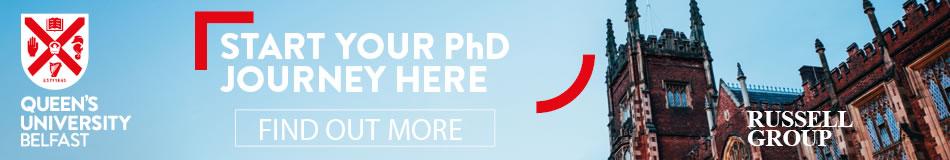 Queen's University Belfast Featured PhD Programmes