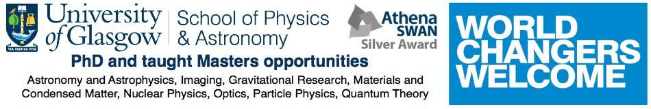 University of Glasgow Featured PhD Programmes