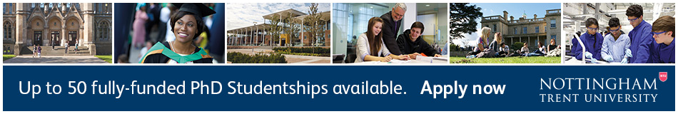 Nottingham Trent University Featured PhD Programmes