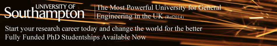 University of Southampton Featured PhD Programmes