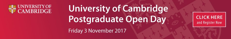 University of Cambridge Featured PhD Programmes