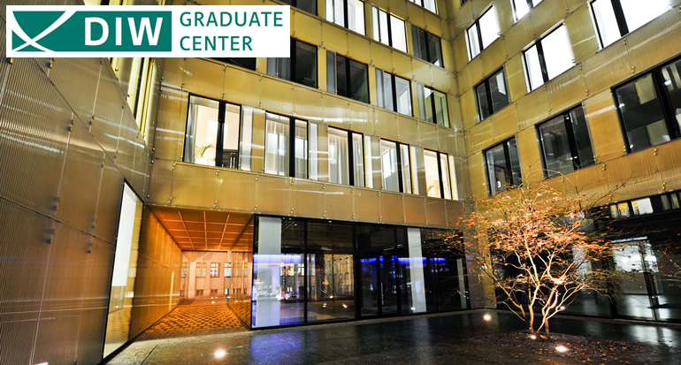 PhD in Economics  - with a full-time scholarship at DIW Graduate Center