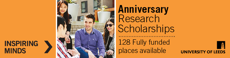 Leeds Anniversary Research Scholarships