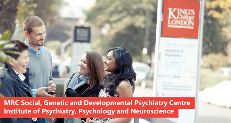PhD in Therapygenetics within the Social, Genetic & Developmental Psychiatry 1+3 Programme