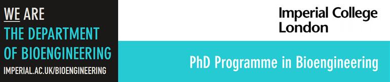 PhD Programme in Bioengineering