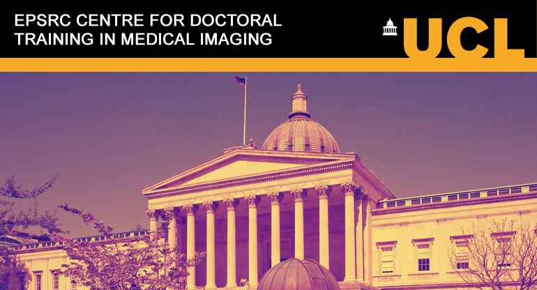 The CDT in Medical Imaging at UCL offers aspiring candidates an unparalleled training and research opportunity