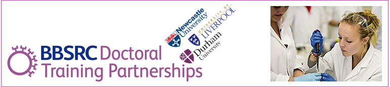 Newcastle-Liverpool-Durham Doctoral Training Partnership in Biosciences