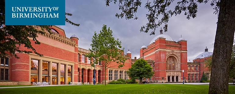 University of Birmingham PhD opportunties