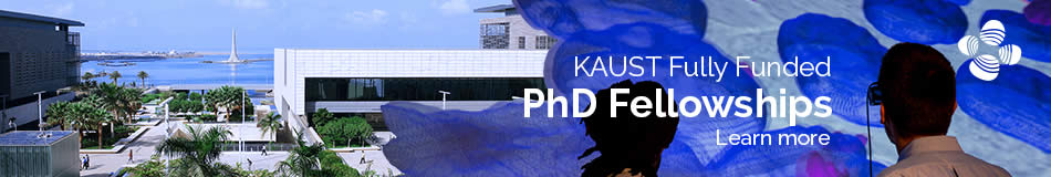King Abdullah University of Science and Technology (KAUST) Featured PhD Programmes