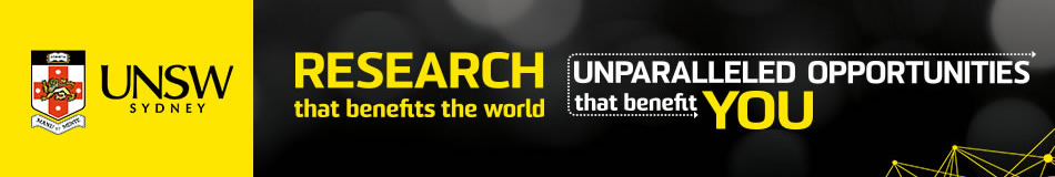 UNSW Australia Featured PhD Programmes
