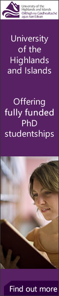 University of the Highlands and Islands Featured PhD Programmes