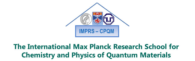 The International Max Planck Research School for Chemistry and Physics of Quantum Materials