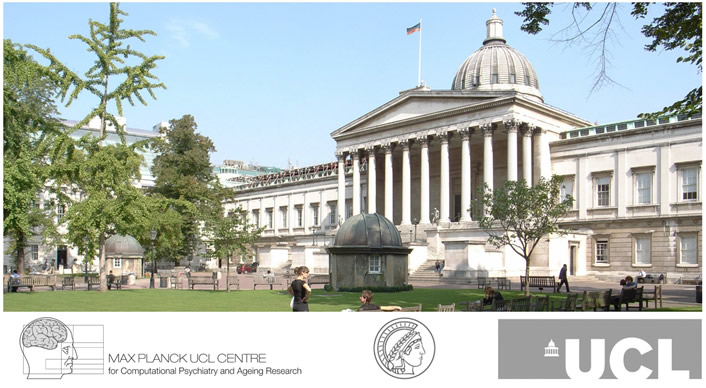 Four-year PhD in Computational Psychiatry at University College London