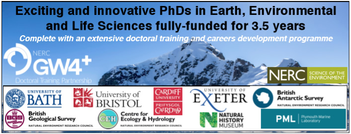 NERC Great Western Four+ Doctoral Training Partnership