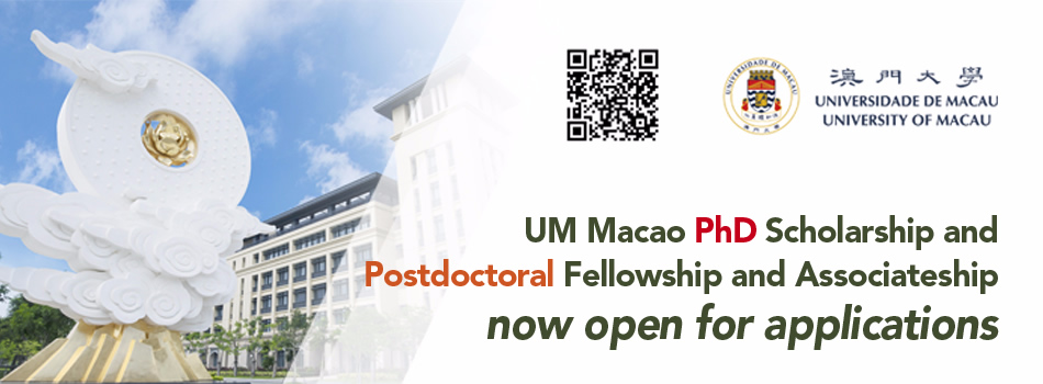 Find A PhD : UM Macao PhD Scholarship and Postdoctoral Fellowship