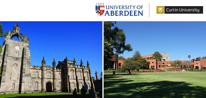 Aberdeen - Curtin Alliance -two fully funded joint PhD scholarships in Health Economics available for 2019 entry