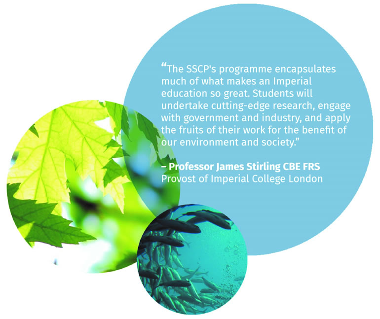 The SSCP's programme encapsulates much of what makes an Imperial education so great - Professor James Stirling CBE FRS