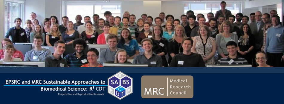 EPSRC Centre for Doctoral Training in Sustainable Approaches to Biomedical Science: Responsible and Reproducible Research - SABS
