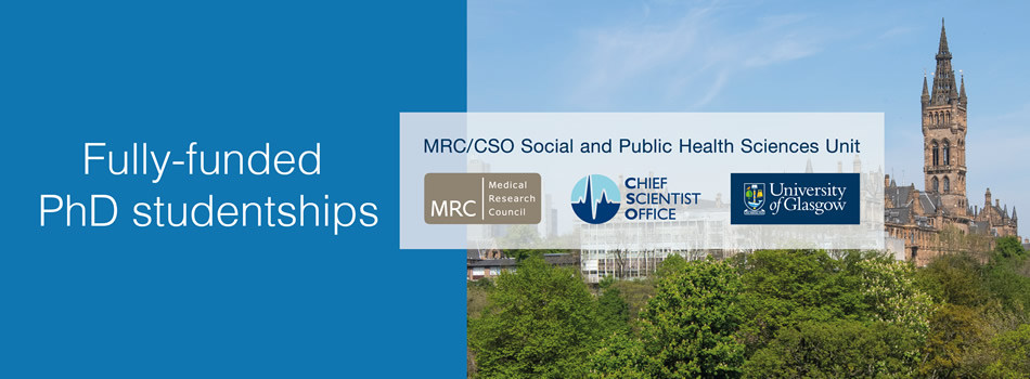 MRC/CSO Social and Public Health Sciences Unit - Informing Healthy Public Policy programme