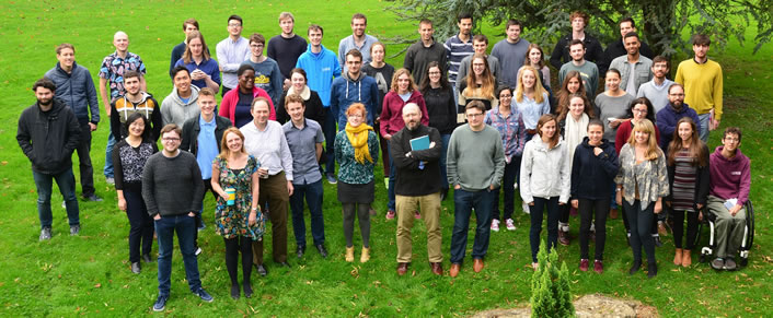 The Department of Mathematical Sciences at the University of Bath hosts an EPSRC Centre for Doctoral Training in Statistical Applied Mathematics