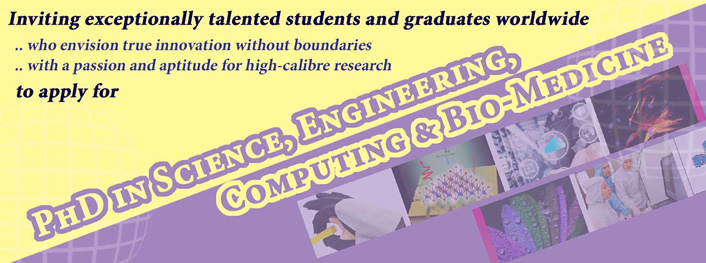 Graduate School for Integrative Sciences and Engineering (NGS) National University of Singapore