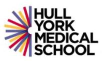 Hull York Medical School, University of Hull